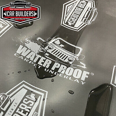 Car Builders Water Proof Carpet Underlay - acoustic liner foam sound insulation