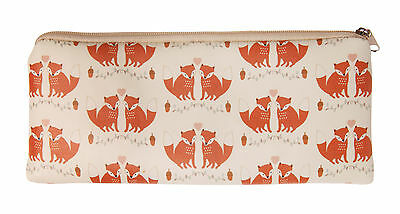 Woodland Fox Slim Pencil Case by Sass & Belle STOCKING FILLER XMAS GIFT