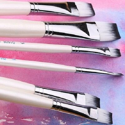 Flat Headed Nelon Acrylic Painting Brush (Free shipping on orders over C $15.00)