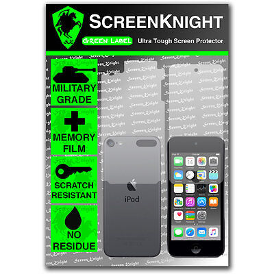 ScreenKnight Apple iPod Touch 6th Gen FULLBODY SCREEN PROTECTOR invisible Shield