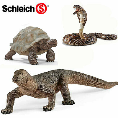 SCHLEICH World of Nature REPTILES - Choose for 11 different figures all with Tag