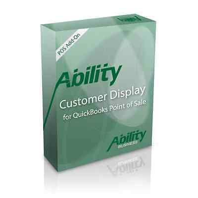 QuickBooks Point of Sale Customer Display Add-On QB POS Yearly Subscription