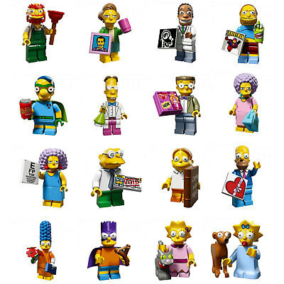 LEGO The Simpsons Series 2 Mini Figures - Choice of 16 different figures
