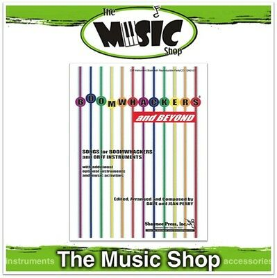 New Boomwhackers & Beyond Music Book - ORFF Instrument Songbook