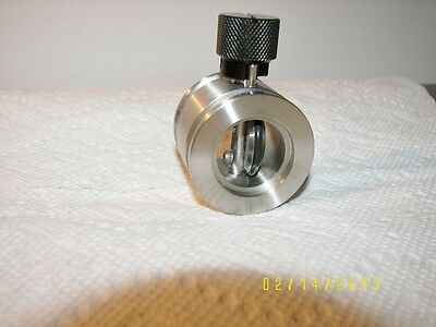 """MDC Kwik-Butterfly ISO NW 25 Valve 1""""ID  Port  KF25 Flange Excellent"""
