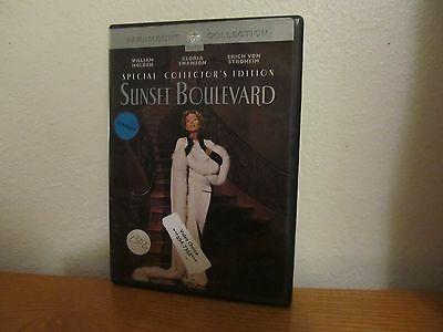 SUNSET BOULEVARD - Special Collector's Edition DVD - I combine shipping