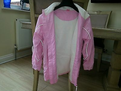 Girls aged 10 years pink lovely little pink coat