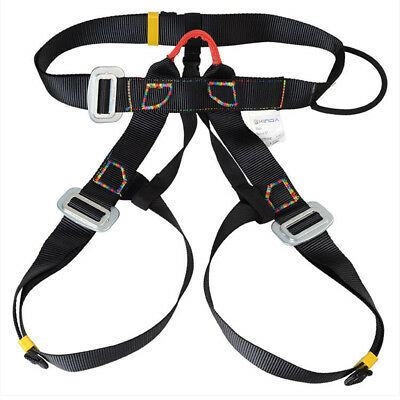 Harness Seat Bust Belts Outdoor Rappelling Rock Climbing Safe Gear Rescue