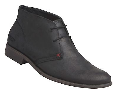 Windsor Smith Harvard Black Shoes Leather Lace Up Boot Casual Dress Formal Men's