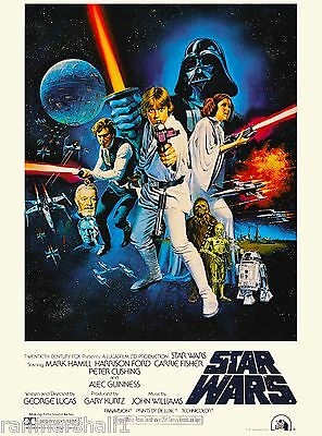 Star Wars Episode 4 A New Hope Lucas United States Travel Advertisement Poster 2