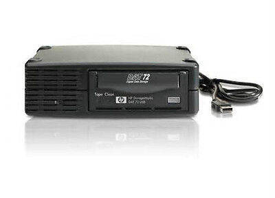 Hp Dw027A 36/72 Dat72 Usb External Tape Drive In New Generic Case