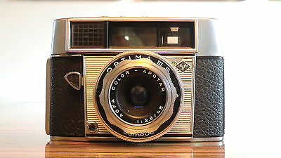 AGFA OPTIMA IIIS Compur mit Color-Apotar 1:2,8/45mm collectible - very nice