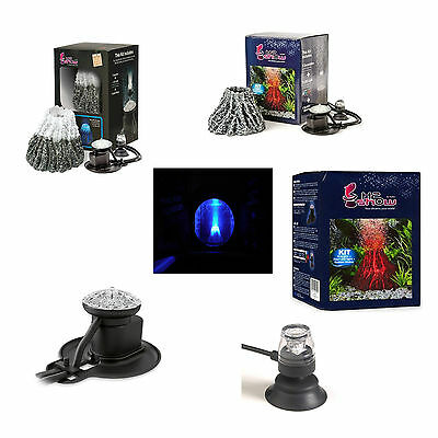 H2Show Underwater Volcano's With Led Lights + Bubble Makers Complete Sets