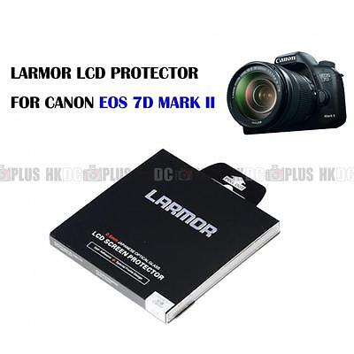 LARMOR Optical Glass LCD Protector Self Adhesive For Canon EOS 7D Mark II