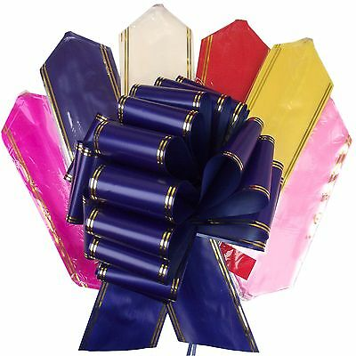 XXXL GIANT Pullbows Set of 6! Pull Bows Florist Gift Car Ribbon