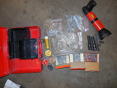HILTI DX-600N heavy duty powder actuated nail & stud gun kit COMBO & NICE (471)