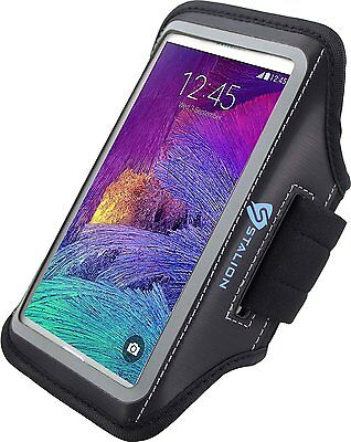 Stalion® Sports Running Exercise Gym Armband Case for Samsung Galaxy Note 4