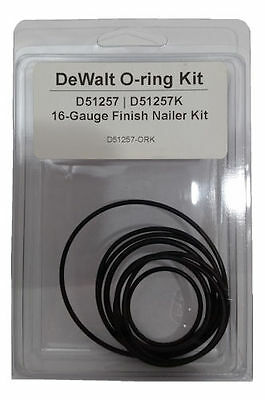Tool Repair Kit for DeWALT D51257 16 Gauge Finish Nailer - O-Ring Kit