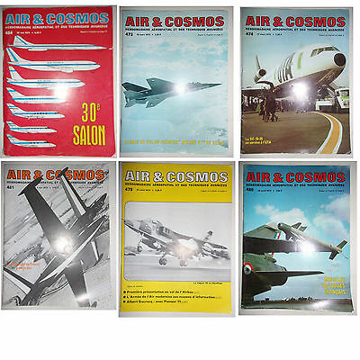 Lot 10 Mags Special Air & Cosmos - Annee 1973