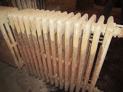 Antique Vintage Hot Water Steam Radiator Heater Boiler Cast Iron Early 1900's