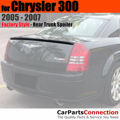 Painted Trunk Spoiler For 06-10 Charger Daytona Style AXR-PXR BRILLIANT BLACK