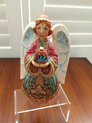 """Debrekht """"The Gift Angel"""" with Treasure Chest...Guardian Gift Givers Series"""