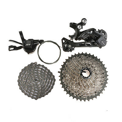 SHIMANO Deore XT M8000 Bicycle Groupset Drivetrain Group Set 11-speed Derailleur
