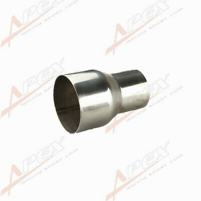 """2.5"""" To 3"""" Inch Weldable Turbo/exhaust Stainless Steel Reducer Adapter Pipe Uk"""