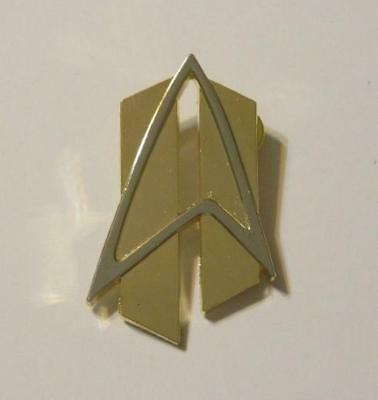 "Star Trek The Next Generation TNG ALL GOOD THINGS 2.5"" Cloisonne PIN"