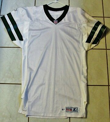 1997 New York JETS TEAM / GAME ISSUED JERSEY !!!