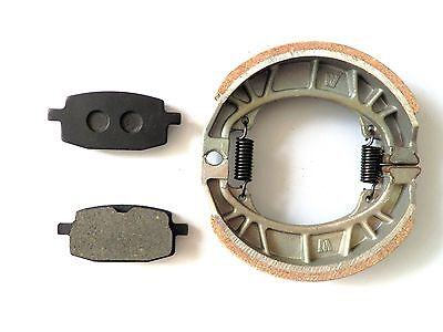 Brake Pads + Drum Brake Shoes Gy6 49Cc 50Cc Scooter Moped Taotao