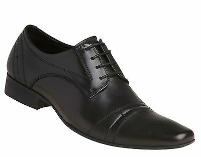 Windsor Smith James Black Shoes Leather Lace Up Casual Dress Formal Work Men's