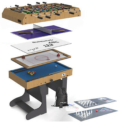 Riley 4ft 12-In-1 Folding Multi Games Table