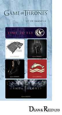 GAME OF THRONES FRIDGE MAGNETS x 6 Set A