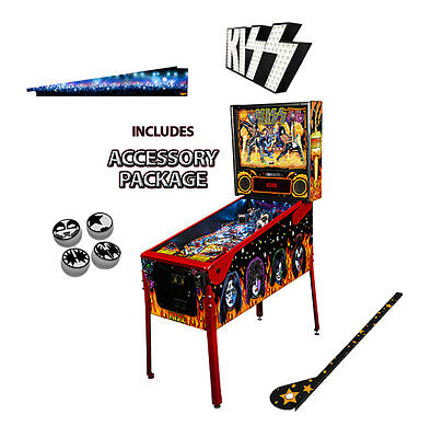 Stern KISS Limited Edition (LE) Pinball with Accessory Package