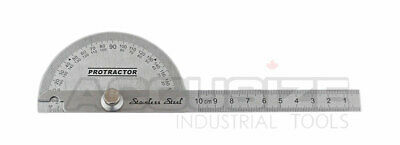Round Stainless Steel Protractor, #E607-1018