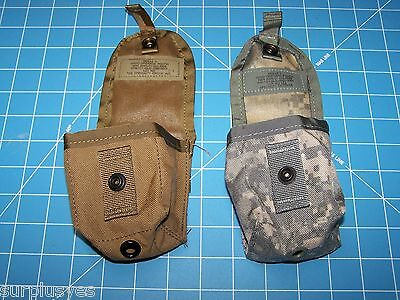Pouches Two First Aid Compass Grenade Phone GPS MOLLE II Military w P38 Opener