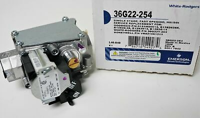 36G22-254 White-Rodgers Gas Heating Furnace Valve for Goodman 0151M00013