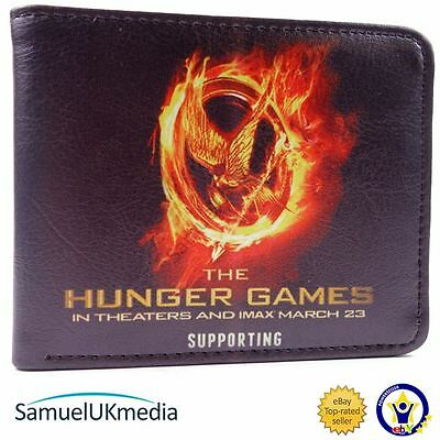 New! The Hunger Games Movie Style Catching Fire Bi-Fold Wallet