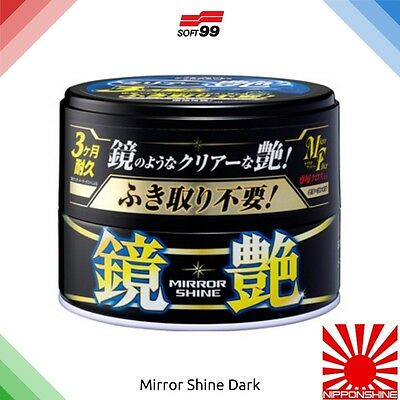 Soft99 Mirror Shine Dark car wax Fast delivery! NO IMPORT DUTY within EU!