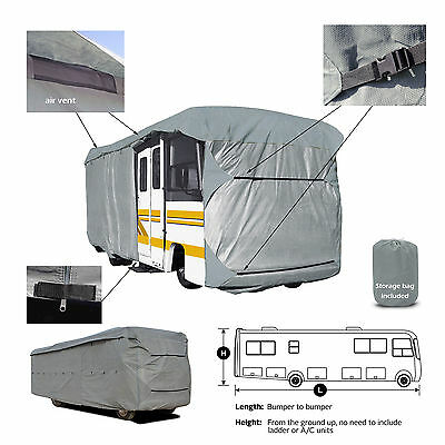 Deluxe 4-Layer Damon Daybreak M-27PD Class A Motorhome RV Camper Cover