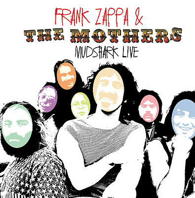 FRANK ZAPPA AND THE MOTHERS OF INVENTION - Mudshark Live. New CD + sealed