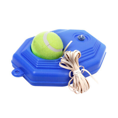 Portable Tennis String Ball with Rubber Band Trainer Set Practice Training