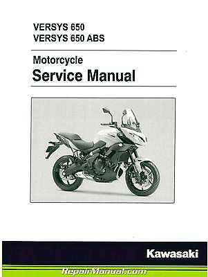 2015 Kawasaki KLE650A Versys / ABS Motorcycle Service Manual : 99924-1490-31