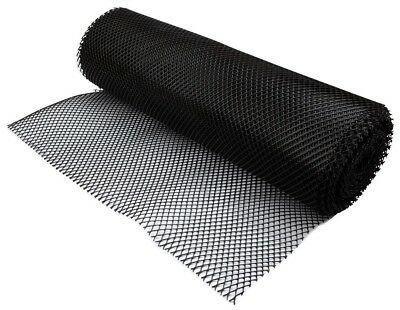 Black Bar Liner Pub Shelf Liner Glass Matting Mesh - 10 Metre Roll