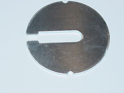 """(1) Side Notch Bandsaw table insert for 14"""" import bandsaw Grizzly Ridgid Delta"""