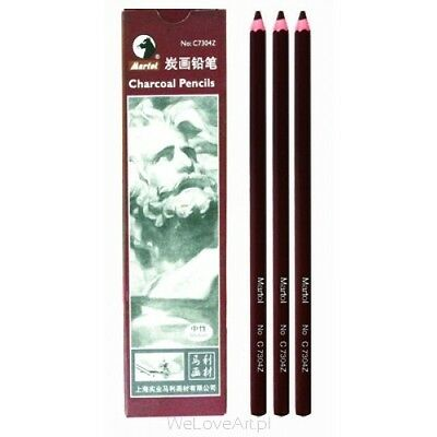Marie's 12 Chacoal Sketch Pencils C7304Z (Free shipping on orders over C $15.00)