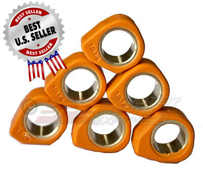 Variator SLIDER Roller Set Racing 16x13 (6g) GY6 50 139QMB 1P39QMB Scooter Moped