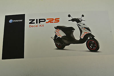 Genuine Piaggio Decal Kit for Zip RS