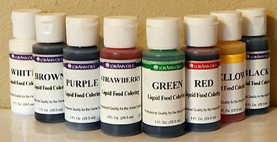 Lorann Liquid Food Color - 1 ounce - Choose your color - Ships Same Day